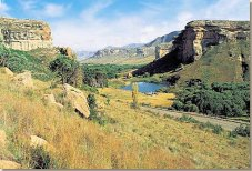 South African Holidays in the Golden Gate National Park in South Africa